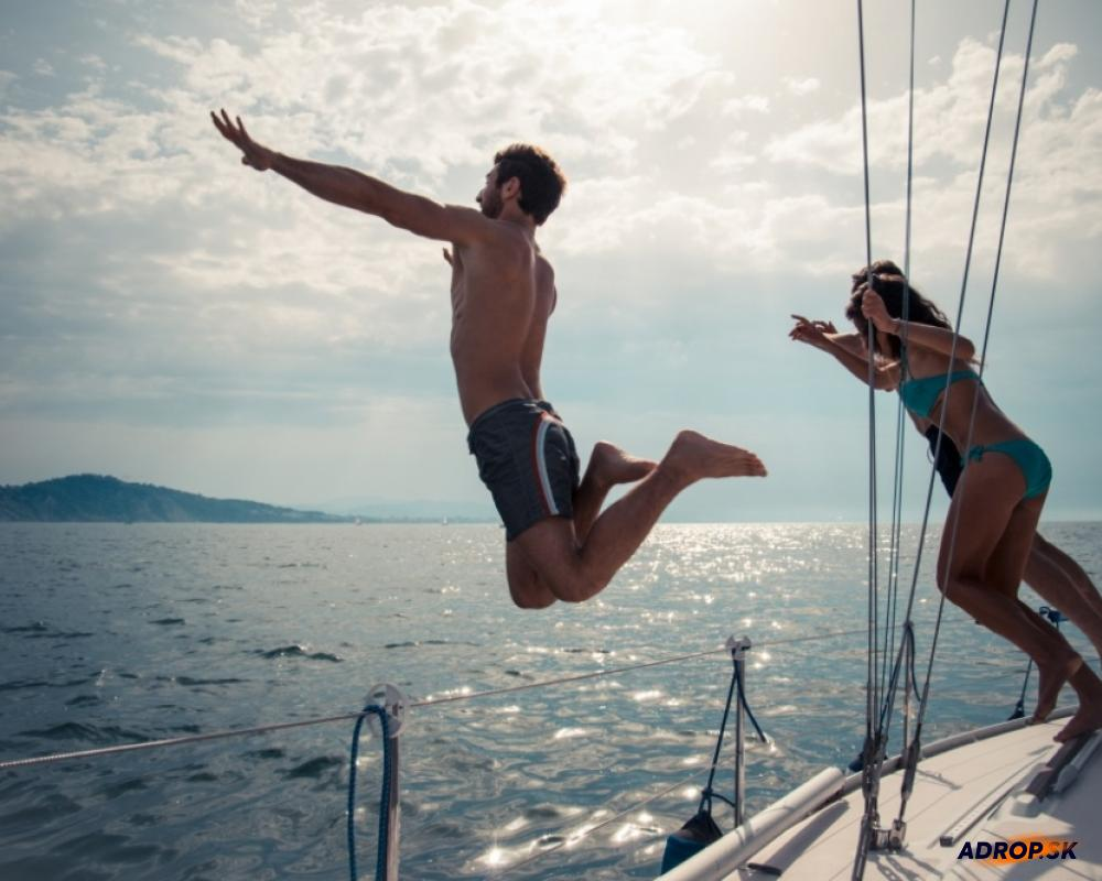 Zábavné popoludnie na vode